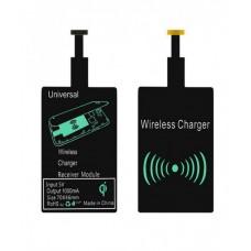 Приемник ресивер QI для беспроводной зарядки micro USB серия A/B Black
